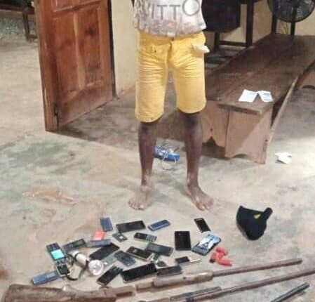 A/R: Notorious Armed Robber Arrested at Tepa