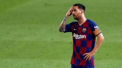 Barcelona ban Lionel Messi from participating in the club's training.
