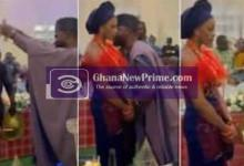 Bride frowns on her wedding day as her husband sprays money on her [Video]