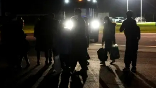 First Afghan arrivals land in UK after pledge to take in 20,000 refugees