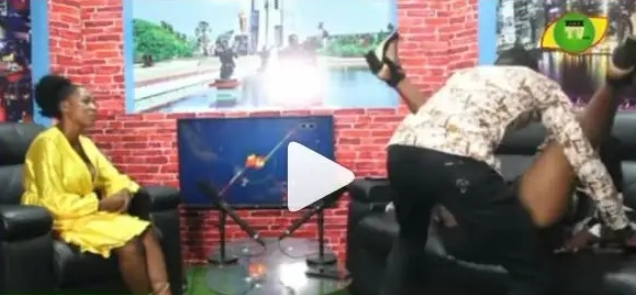 Ghanaians Angrily React After A Man Chopped His Girlfriend On Live TV [Video]