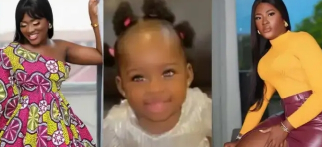 Beautiful photos of Fella Makafui's daughter hit online [Watch]