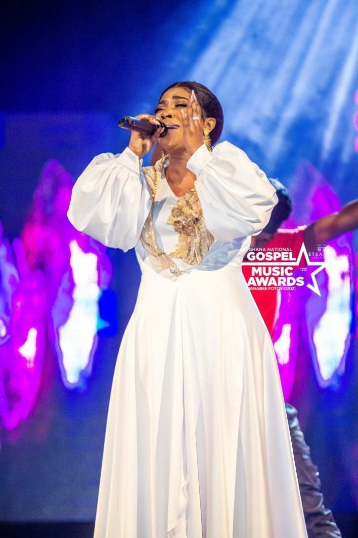Female Vocalist of the Year at Ghana National Gospel Music Awards