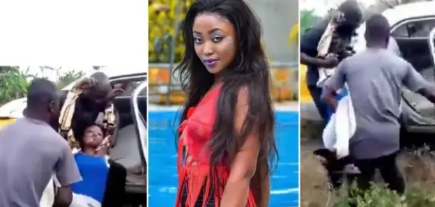 Joyce Boakye reacts after video of her being rushed to the hospital went viral [Watch]