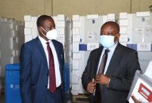 Health Minister hands over vaccine storage facilities to GHS
