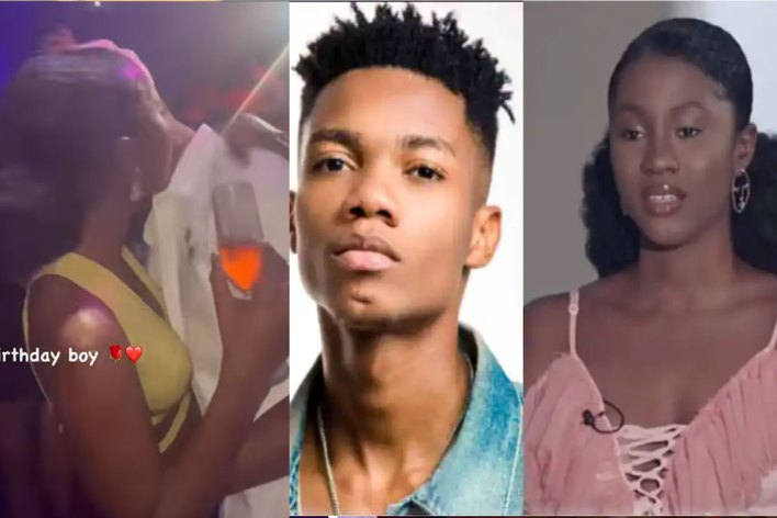 Kidi In Love With Cina Soul Part 2 Drops As Spotted Doing This At A Party [Video]