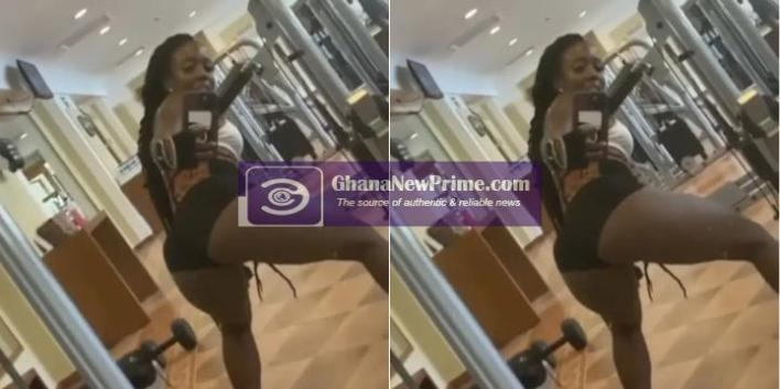 A Lady caught on camera doing this at the gym [Video]