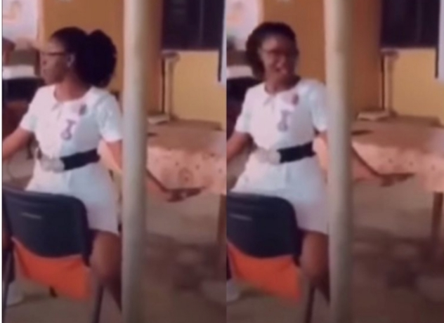 Ghanaian Nurses Learning How To Paddle Their Husbands In Bed Pop Up Online [Video]