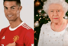 """""""Queen Elizabeth Made Me Realize That Christiano Ronaldo Is The Greatest Footballer In History""""- Reactions After Queen Elizabeth Ordered For 80 Man United Jerseys Of Ronaldo"""