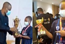 UCC Basic School student wins 3rd in World Spelling B Contest in Dubai