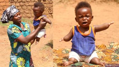 A 7-month baby heals sick people with his supernatural powers