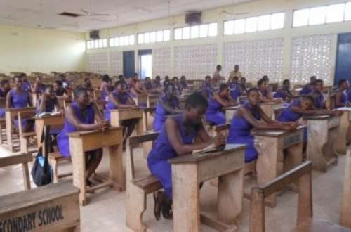 Student delivers in exams hall
