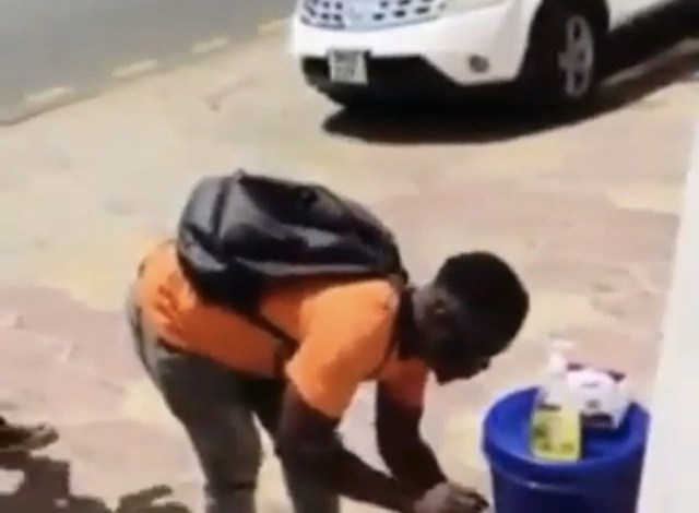 Photo of Man Caught Stealing Sanitizers And Soap In Public