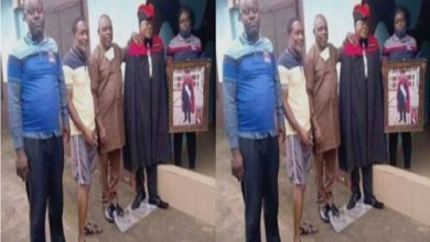 Photo of (PHOTOS): Family members dress up a dead man who has been in the mortuary for 4 months just for a Photo Shoot