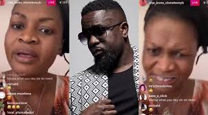Photo of Video: Ayisha Mordi blasts fans of Sarkodie and calls them hypocrites