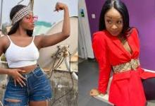Photo of Beef Alert: Efia Odo tears Wendy Shay apart on social media ( See Photos)