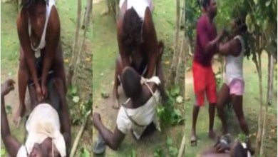 Photo of Video:Slay Queen tries to r@p£ man in public (Watch)