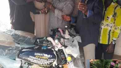 Photo of UER: Deputy Youth Organizer NPP-USA Branch donates 2 motorbikes to support Bawku Central Constituency Campaign Team ahead of 2020 election