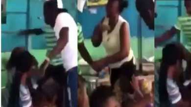 Photo of Video: Guys beat ladies to a pulp for not showing up despite taking transportation money from them(Watch)