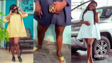 Photo of I've nice legs because I haven't bleached – Tracey Boakye