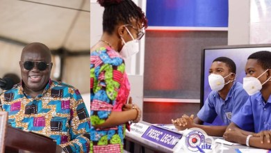 Photo of Read President Akuffo-Addo's message to NSMQ winners (Photo)