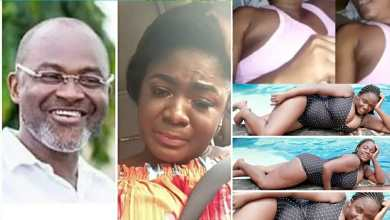 "Photo of Tracy Boakye's alleged ""naked video"" report. Some Ghanaians got Kennedy Agyapong Vindicated"