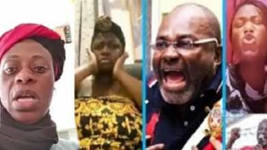 Photo of Prophetess reveals date Tracey Boakye would die if she doesn't apologize to Ken Agyapong