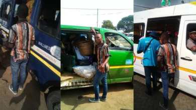 Photo of Guy shocks the world as he preaches in 22 trotro buses to mark birthday (screenshot)