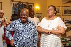 Photo of Check out what Akufo-Addo gave wife Rebecca on Valentine's Day