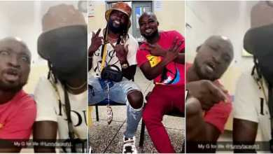 Photo of Emotional as Adebayor visits Funny Face at psychiatric hospital