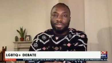 Photo of Ghanaian journalist comes out on live TV confesses he's gay