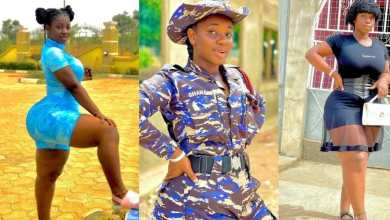 Photo of Meet one of the most beautiful Ghanaian female police officer who has caused massive traffic on the internet (Photos)