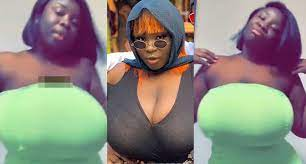 Photo of Maame Serwaa goes braless in latest video