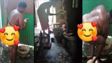 Photo of Naket video of woman who visited a shrine to k!ll President Akufo-Addo, Okuapehene hits the internet