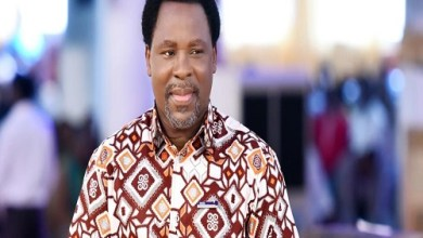 Photo of YouTube deletes TB Joshua's account over gay cure claim.