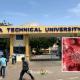 Accra Technical University records covid-19
