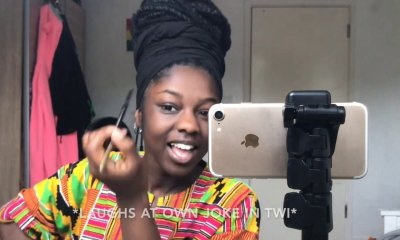 First female to successfully make men watch a makeup tutorial