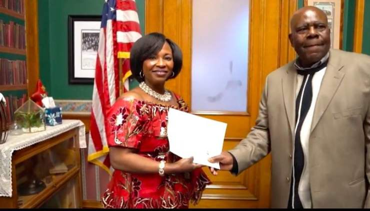 Actress Rose Mensah, known as Kyeiwaa marries in the US