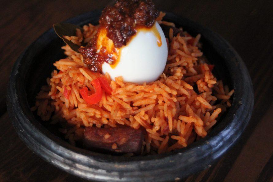 Delicious Ghanaian Jollof Rice