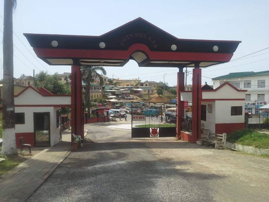 Mfantsipim School entrance