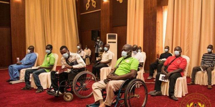 Disabled Male Entrepreneurs receive GH¢2M Funding Support