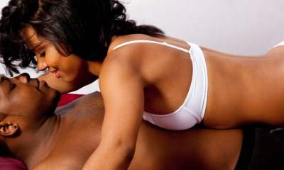 black couple in bed - ORGASMS Why fake it