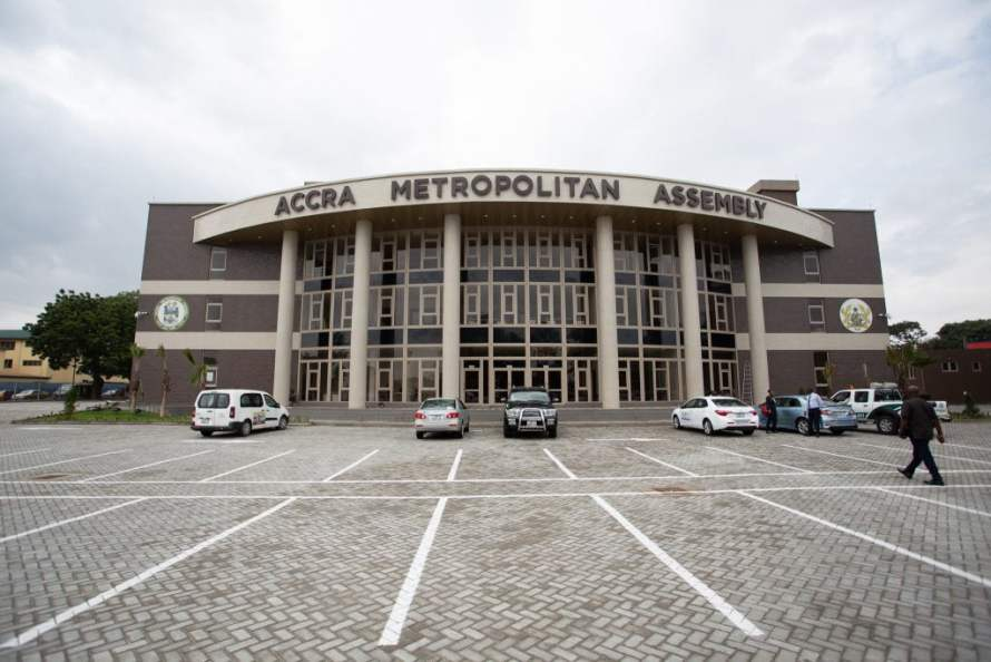 Accra Metropolitan Assembly located in the Greater Accra Region of ghana