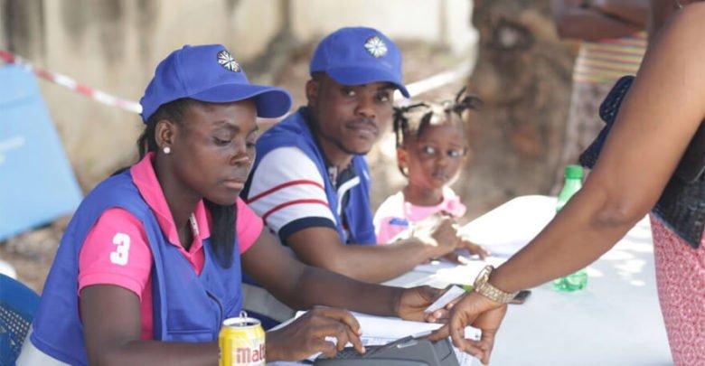 Ghana Voters Registration Exercise