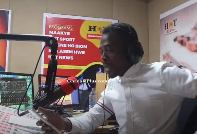 Chairman K.K – Host of 'Dwenehobiom' Political show on Hot 93.9FM