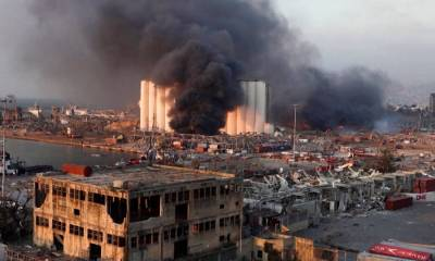 Hundreds missing after Lebanon's Ammonium Nitrate explosion