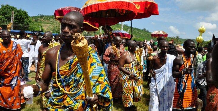 Akwasidae Festival in the Ashanti Region