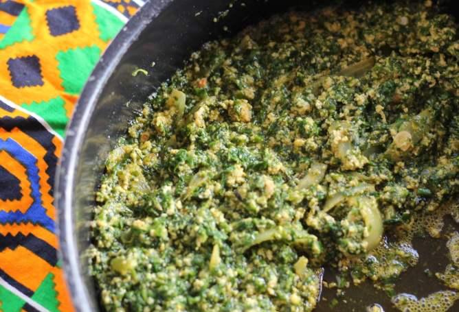 Palava Sauce - Ghanaian Stew