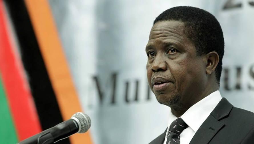 President of Zambia Edgar Lungu