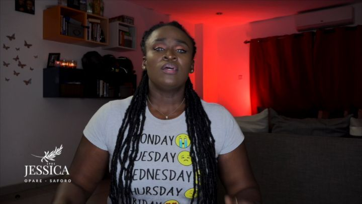Ghanaian men reacts to Jessica Opare Saforo's if he doesn't marry you sue him